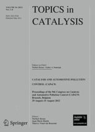 Topics in Catalysis