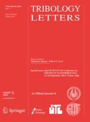 Tribology Letters