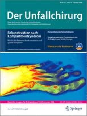 Kompartmentsyndrom des Unterschenkels und des Fußes | SpringerLink