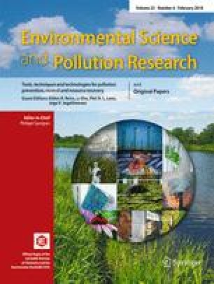 Environmental Science and Pollution Research