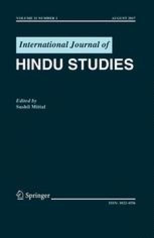 International Journal of Hindu Studies