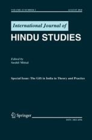 Toward an Anthropology of Exchange in Tamil Nadu | SpringerLink