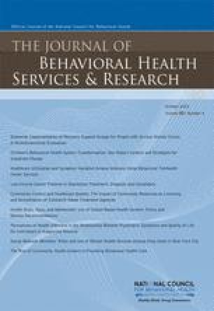 The journal of mental health administration