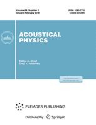 Transient acoustic holography for reconstructing the particle