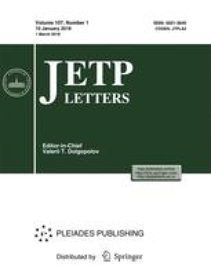 Journal of Experimental and Theoretical Physics Letters