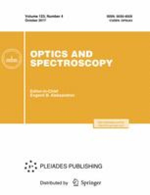 Optics and Spectroscopy