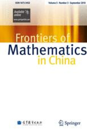 Frontiers of Mathematics in China - Springer