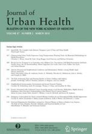 Journal of Urban Health - Springer
