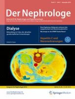 Lebensqualität an der Dialyse   SpringerLink