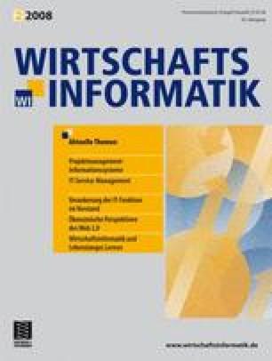 WIRTSCHAFTSINFORMATIK