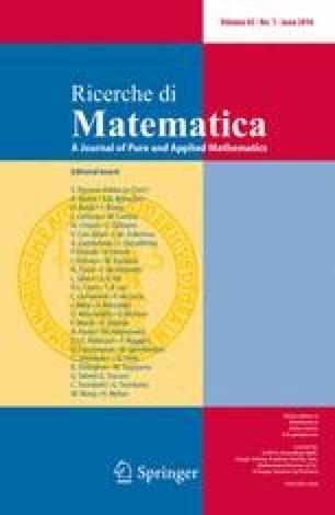 Ricerche di Matematica