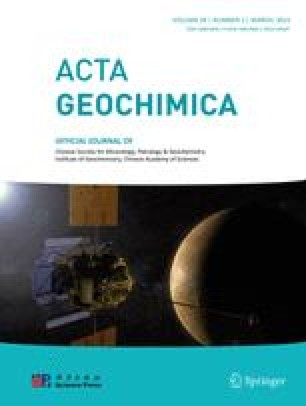 Chinese Journal of Geochemistry