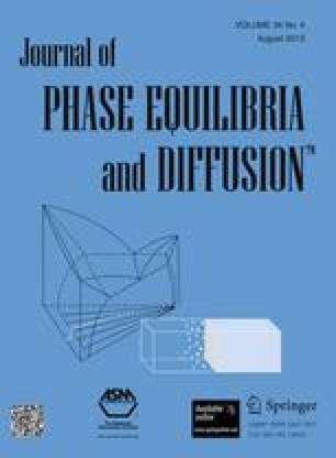 Journal of Phase Equilibria