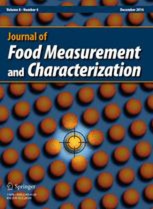 Journal of Food Measurement and Characterization - Springer