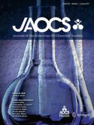Journal of the American Oil Chemists Society