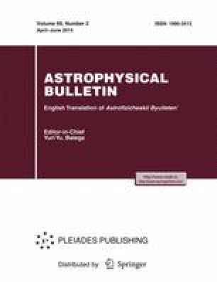 Astrophysical Bulletin