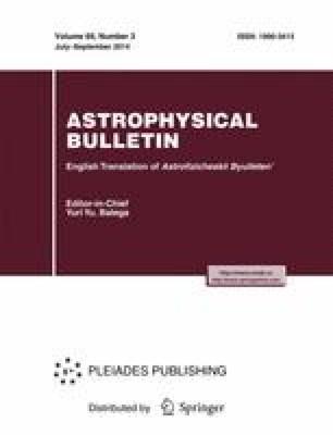 Astrophysical Bulletin