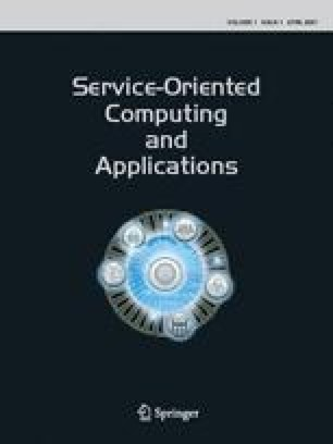 Service Oriented Computing and Applications