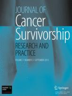 Journal of Cancer Survivorship