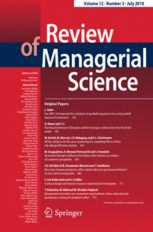 Review of Managerial Science