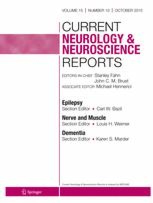 Current Neurology and Neuroscience Reports