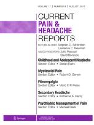 Current Review of Pain
