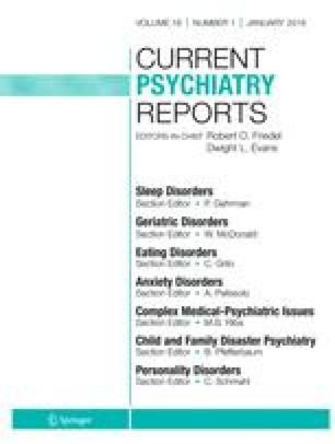Update on childhood-onset schizophrenia | SpringerLink