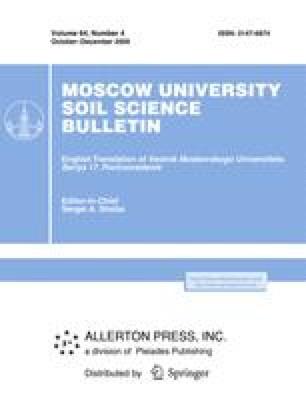 Moscow University Soil Science Bulletin