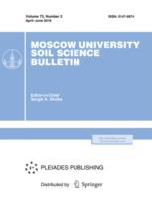 Moscow University Soil Science Bulletin