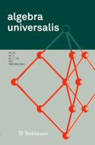 algebra universalis