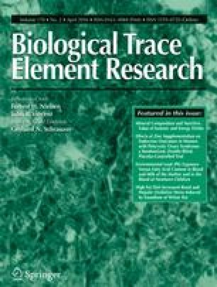 Biological Trace Element Research