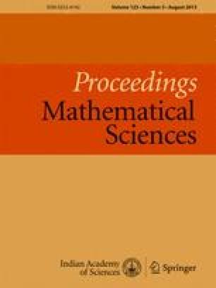 Proceedings Mathematical Sciences