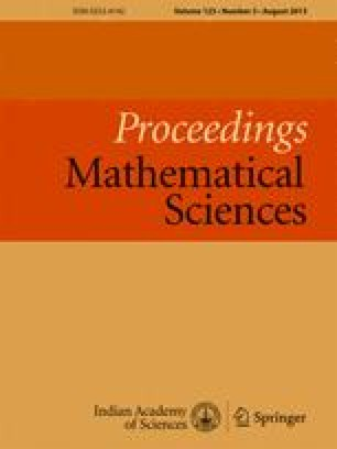 Proceedings of the Indian Academy of Sciences - Section A