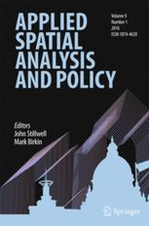 Applied Spatial Analysis and Policy - Springer