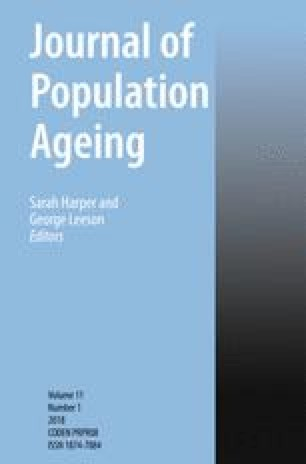 Journal of Population Ageing
