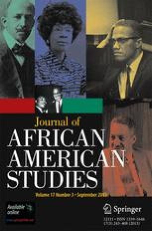 Journal of African American Studies Cover Art