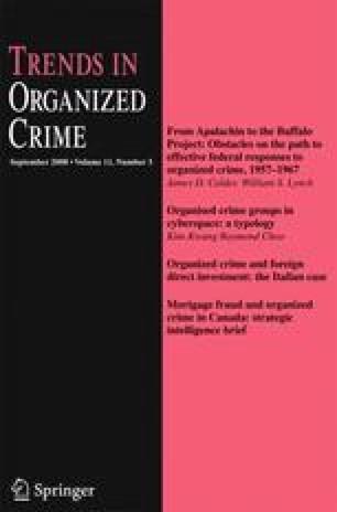 Recent publications on organized crime   SpringerLink