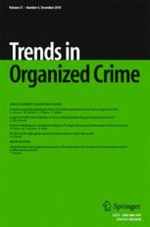 social institution organized crime