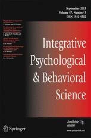 Conditional reflex : a Pavlovian journal of research & therapy