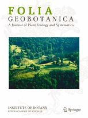 Folia Geobotanica et Phytotaxonomica
