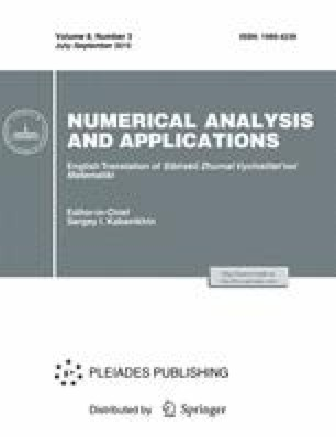 Numerical Analysis and Applications