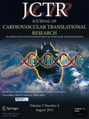 Картинки по запросу Journal Journal of Cardiovascular Translational Research