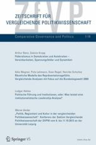 Anna Christmann: Von Government zu Governance? Acht europäische ...