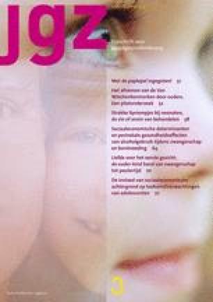 JGZ Tijdschrift voor jeugdgezondheidszorg
