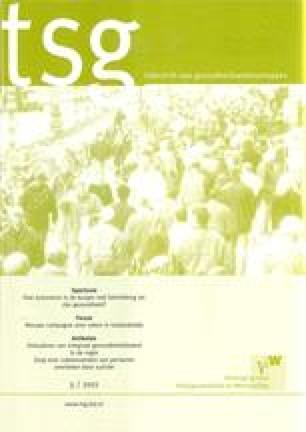 Tijdschrift voor gezondheidswetenschappen