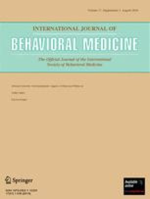 Abstracts from the 11th International Congress of Behavioral