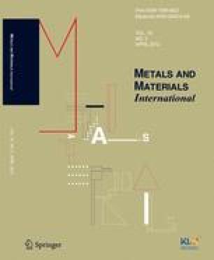 Metals and Materials International