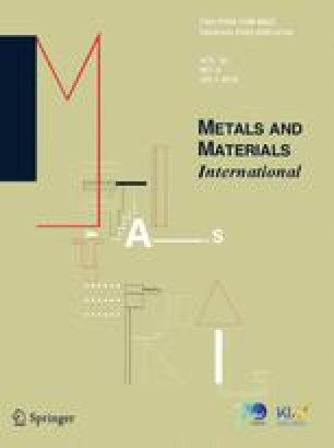 Metals and Materials International