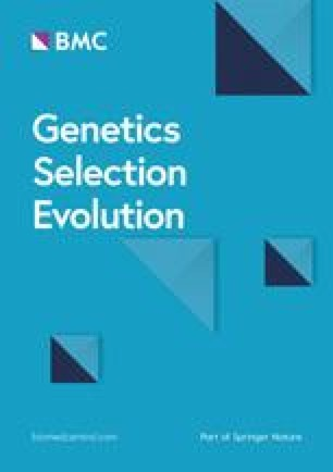 Annales de génétique et de sélection animale
