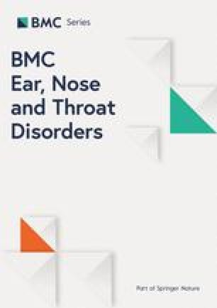 BMC Ear, Nose and Throat Disorders